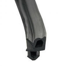 ELEMENTIS Уплотнитель для профиля REHAU (стеклопакет), чёрный, 400 м