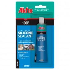 Akfix  100E Универсальный силиконовый герметик, 50 г