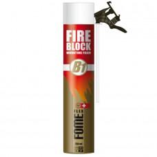FOME FLEX FIRE BLOCK Mounting Foam  противопожарная монтажная пена с трубкой адаптером
