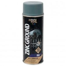 Tegra — INRAL ZINC GROUND ANTI-CORROSION Аэрозольная антикоррозийная защита