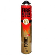 FOME FLEX FIRE BLOCK Pistol Foam  противопожарная монтажная пена
