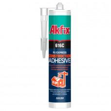 Akfix — 616C Конструкционный полиуретановый экспресс клей