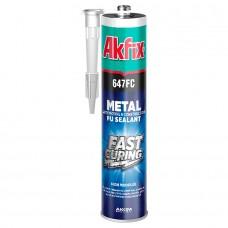 Akfix — 647FC Полиуретановый герметик автомобильный строительный, 310 мл