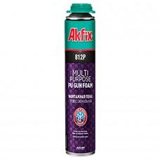 Akfix  812Р Многоцелевая профессиональная зимняя монтажная пена -12°C