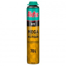 Akfix  872 Профессиональная полиуретановая пена 70L