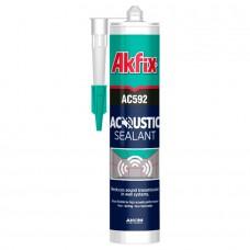 Akfix  AC592 Акустический герметик звукоизоляционный, 600 мл