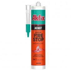 Akfix  AC607 Огнезащитный акриловый герметик, 310 мл