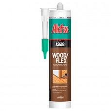 Akfix  AS608 Герметик для дерева, 310 мл