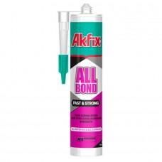 Akfix ALLBOND MS FAST&STRONG Клей-герметик 600мл