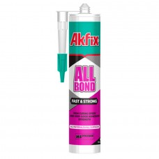 Akfix ALLBOND MS FAST&STRONG Клей-герметик 290мл