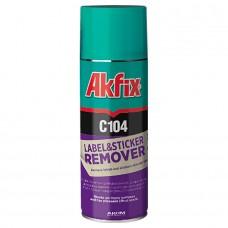 Akfix  C104 Очиститель наклеек