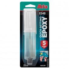 Akfix E340 Эпоксидный клей быстро твердеющий универсальный