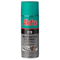 Akfix  E70 Проникающая смазка ультралегкий, 400 мл
