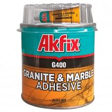 Akfix  G400 Клей для гранита и мрамора 1000г