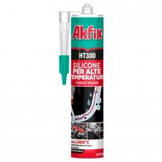 Akfix  HT300 Термостойкий силиконовый герметик, 85 мл