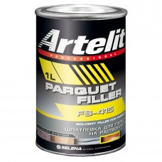 Artelit FS-415 Parquet filler шпатлевка для паркета на растворителях