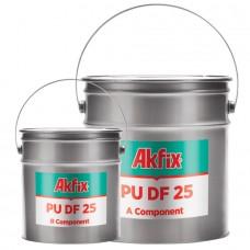 Akfix  PU DF25 Полиуретановый двухкомпонентный герметик 10кг+5кг