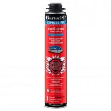 Barton'S  Express Fix клей-пена для теплоизоляции и PIR-плит всесезонная огнестойкая