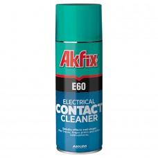 Akfix — E60 Очиститель электрических контактов, 200 мл