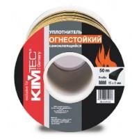 KIM TEC Огнестойкий самоклеющийся уплотнитель 15мм x 8мм