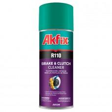 Akfix  R110 Спрей для очистки тормозных колодок и сцепления