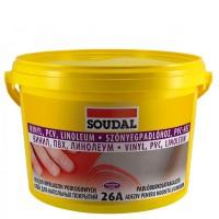 SOUDAL  26A клей для напольных покрытий 15кг