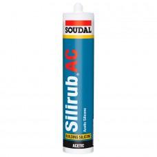 SOUDAL  Silirub AC Силикон для остекления 600мл