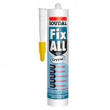 SOUDAL Fix All Crystal клей-герметик прозрачный 290мл