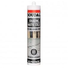 SOUDAL  Colozinc клей-герметик для металлочерепицы