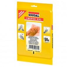 SOUDAL — Swipex очищающие салфетки 20шт