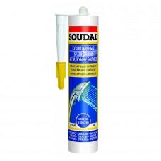 SOUDAL — Санитарный силикон 300мл
