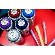 Аэрозольная краска Tegra – качественная продукция от европейского производителя